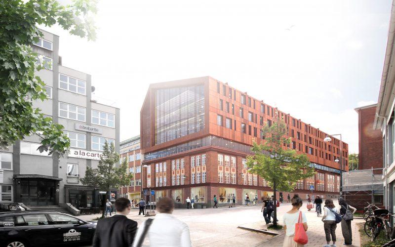 Kv Trikåfabriken 9 vy från Textilgatan