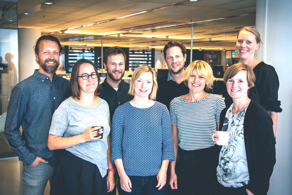 Pristagarna från studio Stadsbyggnad i idétävlingen Imagine Open Skåne 2030.