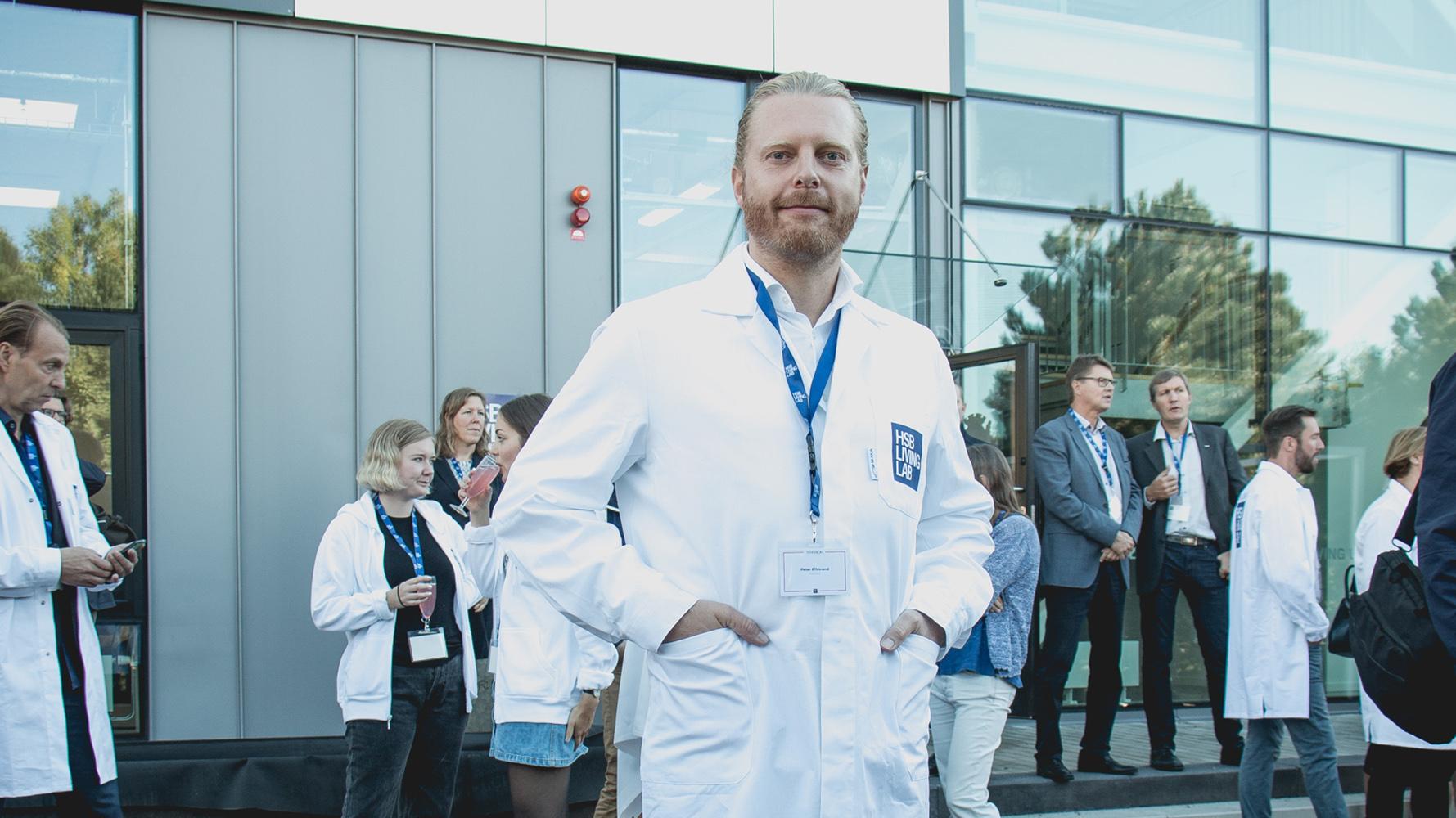 Invigning HSB Living Lab Peter Elfstrand