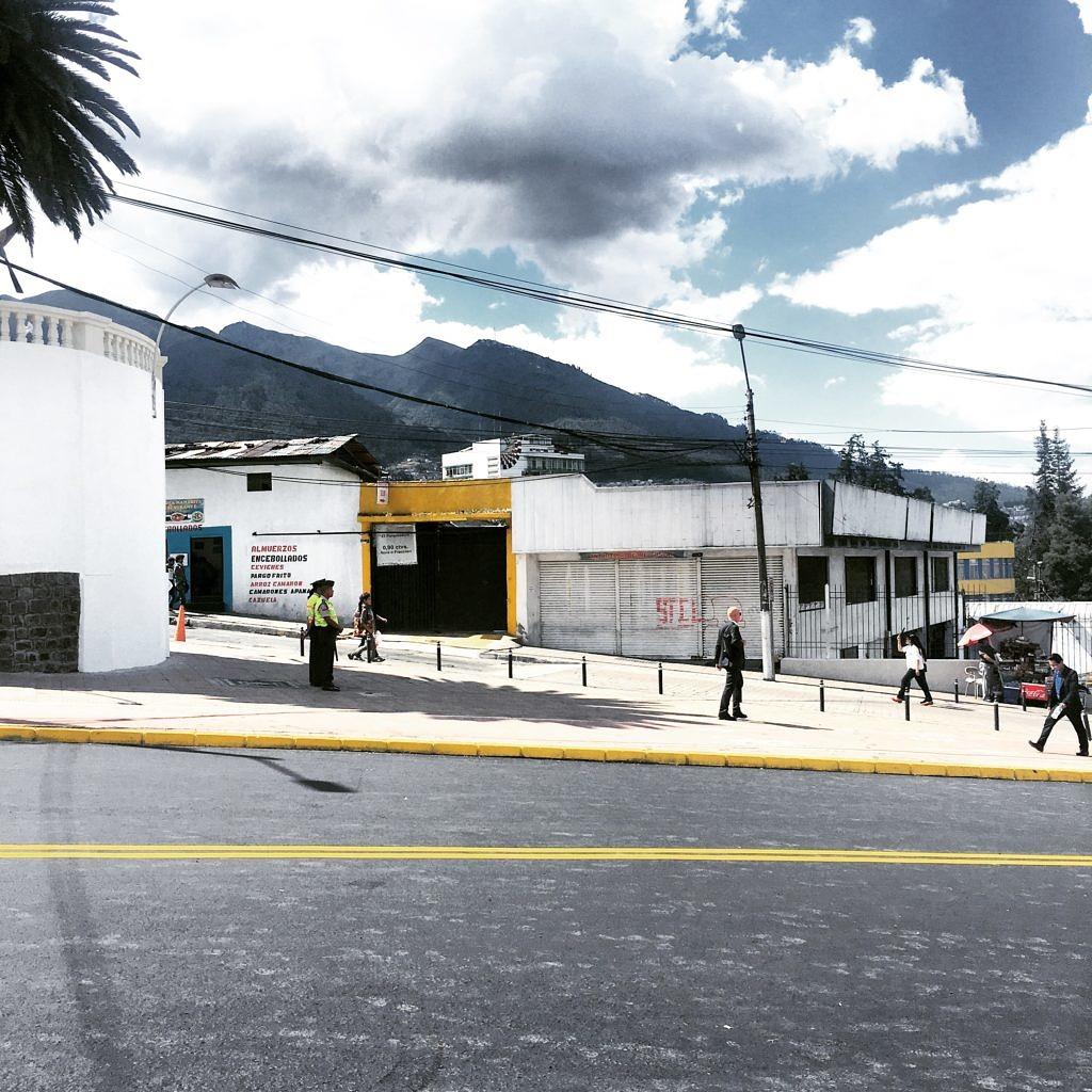 Gatuvy från utställningsområdet på Habitat III_10